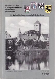 Heimatbote der Kreisgemeinschaft Ortelsburg Ostpreußen/50 Jahre Ortelsburg 1998