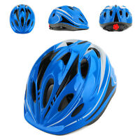 Boys Girls Safety Helmet Kids Bike Bicycle Skating Scooter Protective Helmet blu
