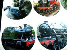 12 Tren Ferrocarril y pegatinas, temática de las etiquetas autoadhesivas trains51
