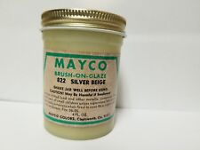 Mayco Brush On Glaze Vintage 4 Oz. 822 Silver Beige