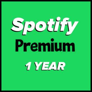 Spotify 1Year Premium - NEW