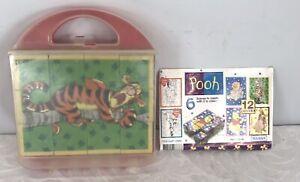 Retro Hansa Disney Winnie The Pooh Cube Puzzle