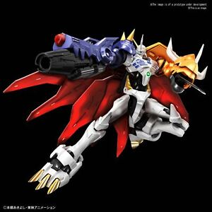 "Bandai Omegamon (Amplified) Spirits Figure-rise Standard Model Kit ""Digimon"""