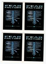 FEAR FACTORY - 4 x Aufkleber - Demanufacture - Sticker