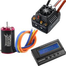 1/10 ESC Motor Combo Tenshock SC401V2/3800KV+Hobbywing EzRun MAX10 SCT 120A+LCD