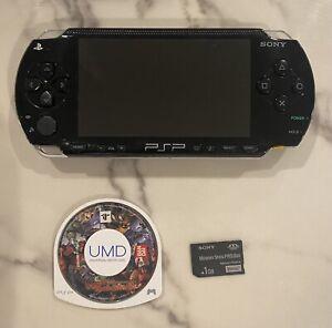 PSP-1000 Black Tested Working Console Bundle Region Free Japan Import US Seller