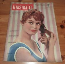 ILLUSTRATED MAGAZINE 26TH MAR 1955 BRIGITTE BARDOT FRONT COVER