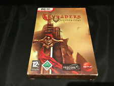 PC DVD-ROM CRUSADERS THY KINGDOM COME GAME - PREOWNED - VIEW PICTURES *UK SELLER