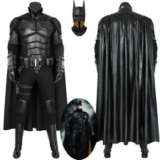 The Batman 2021 Costume Cosplay Suit Bruce Wayne Halloween Outfit