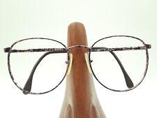 Vintage Alberto Gallucci AG-2A C59 Purple Tortoise Round Sunglasses Frames Italy