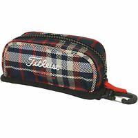 TITLEIST Golf Ball Case AJBC62-NV Navy Ball Pouch Bag AJBC62 Unisex  JAPAN