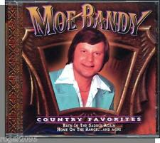 Moe Bandy - Country Favorites (2000) - New 10 Song Western Music CD!