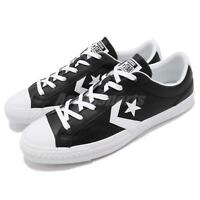 Converse Star Player Leather Black White Men Women Shoes Sneakers 159780C