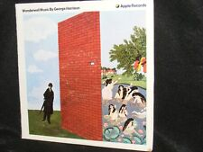 GEORGE HARRISON Wonderwall Music Psychedelic ELECTRONIC Raga Soundtrack LP APPLE
