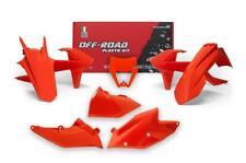 KTM EXC 17 18 Naranja Racetech Kit Plástico con máscara de faros