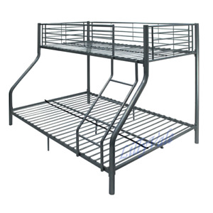 Triple Sleeper 3 Bunk Bed – Childrens Standard Single and Full Double Bed