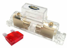 12 inch 4 AWG Gauge Heavy Duty Cable Inline Fuse Holder 80 AMP Fuse Battery
