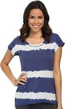 New PJ SALVAGE Team USA Tie Dye Navy & White Women's Tee Shirt M