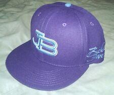 NEW Justin Bieber Fever Purple Snapback Flatbill OSFA Official Merchandise Hat