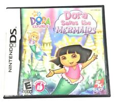 Nintendo DS Dora Saves the Mermaids Complete in Box