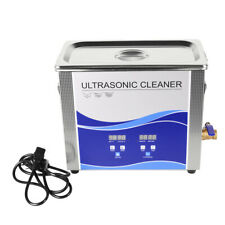 65l Ultrasonic Cleaner With Heating Bath For Dental Toolwatchesglasses Sale