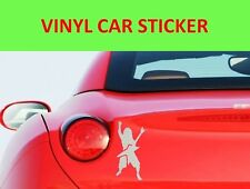 DIMEBAG DARRELL PANTERA STICKER  WHITE CAR VINYL VISIT OUR STORE WITH MORE MODEL