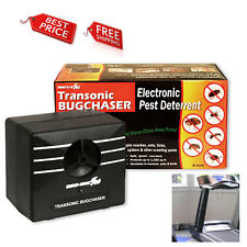 Ultrasonic Electronic Pest Repellent Deterrent Insect Rat Mouse Ants Bat