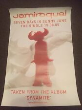 Jamiroquai-7 Days In Sunny June-rare Promo Poster From 2005