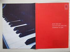 3/2004 PUB CFM SNECMA GENERAL ELECTRIC CFM56 PIANO CLAVIER ORIGINAL AD