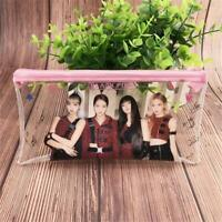 Kpop Blackpink Clear Pencil Pen Bag Jennie Cosmetic Makeup Bag Protable Coin Bag