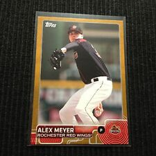2015 TOPPS PRO DEBUT #108 ALEX MEYER *GOLD #/50*  ROCHESTER RED WINGS