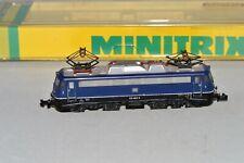 N Scale MINITRIX 12054 DB 110 483-5 Dark Blue BR 110 Electric Locomotive