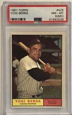 1961 Topps #425 Yogi Berra PSA NM-MT #8