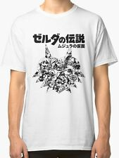 Legend Of Zelda Majoras Mask T-shirt (Japanese Classic Edition)