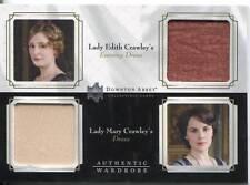DOWNTON ABBEY SEASON 1&2 DOUBLE WARDROBE CARD LADY EDITH / CORA CRAWLEY DW01