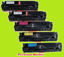 5PK NON-OEM CB540A CB541A CB542A CB543A for HP 125A LaserJet CM1312/1215/1515