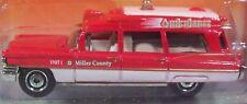 Matchbox '63 Cadillac Ambulance red 2010 #55