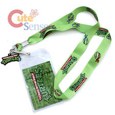 Teenage Mutant Ninja Turtles TMNT Lanyard Key Chain Phone Charm with ID Pocket