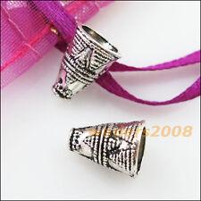 15 New Connectors Cone Speaker Tibetan Silver End Bead Caps 8.5x11.5mm