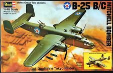 REVELL Kit.No. H-285, North American B-25B/C, 1/48, 100% Complete, 1976