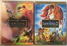 Disneys Lion King 1 & 2  (DVD )  Brand New Sealed  >>Free...