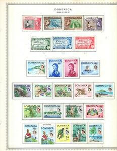 Kenr2: Dominica 1957-1975 Collection from Minkus Global Album