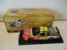 2001 Action Race Fans Jeff Gordon Dupont 24kt Gold Stock Car 1/24