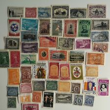 More details for 100 different panama stamps collection