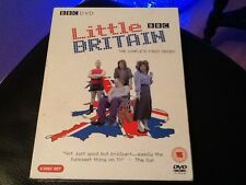 DVD  LITTLE BRITAIN  T.V. SERIES .The Complete First Series 2004. DAVID WALLIAMS