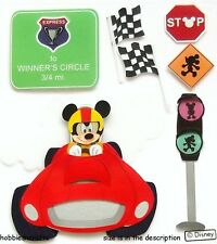 EK SUCCESS JOLEE'S BOUTIQUE DISNEY 3-D STICKERS - MICKEY MOUSE - RACE CAR MICKEY