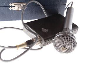 TELEFUNKEN SENNHEISER MD405 Prototyp Vintage Mikrofon 1960s UNGETESTET #1/0012