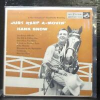 "Hank Snow - Just Keep A-Movin' EP 2x7"" VG+ Vinyl 45 RCA EPB-1113 USA 1955"