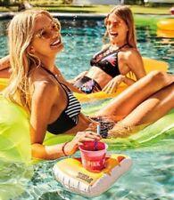 Victoria's Secret PINK Pool Beach Party Cup & Pizza Floatie Koozie NEW