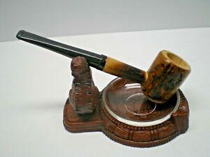 """""""MISSOURI MEERSCHAUM """" NOS Hickory Pipe made with Ozark hickory NOS CIRCA 1954"""